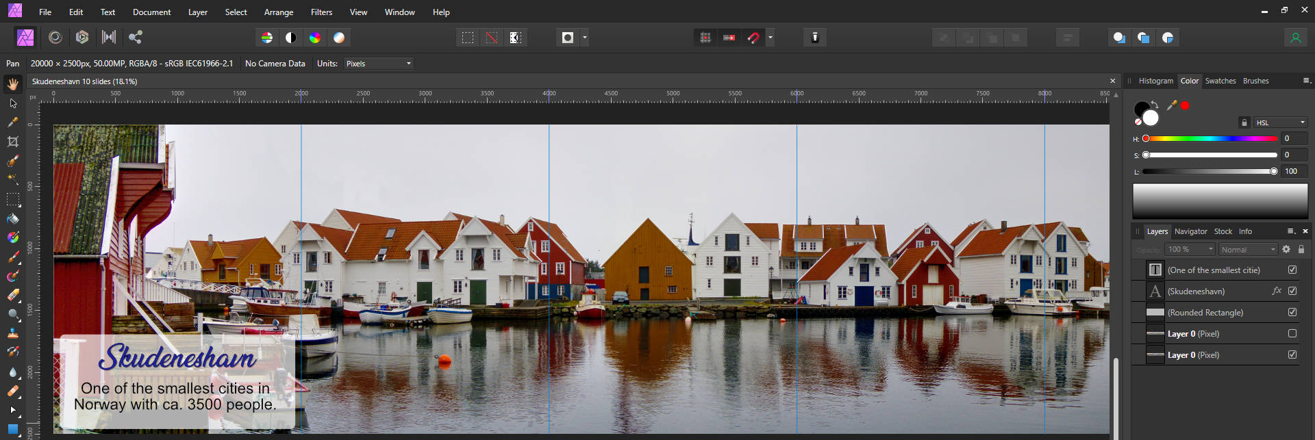 Free Instagram carousel templates for Affinity Photo 3